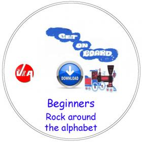 Rock around the alphabet - Songs for Beginners