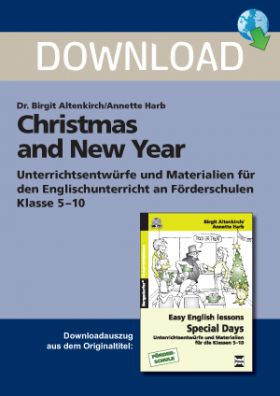 Special Days: Christmas and New Year - Englischunterricht an Förderschulen