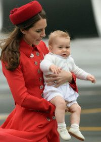 Wir lernen die britische Thronfolge kennen - Will Prince George be the next King of Great Britain?
