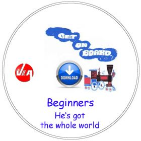 He's got the whole world - Songs for Beginners