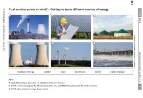 Coal, nuclear energy or wind? - Discussing different sources of energy