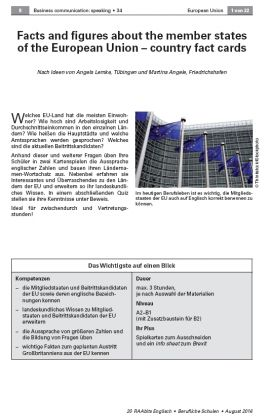 Facts and figures about the member states of the European Union - country fact cards