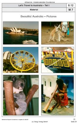Let's Travel to Australia I: English-Speaking Countries, Sightseeing Tour, Aborigines and more
