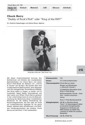 Chuck Berry - King of Rock'n'Roll oder King of the Riff?