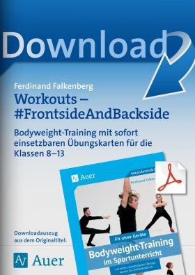 Workouts Frontside and Backside - Bodyweight-Training Kl. 8-13