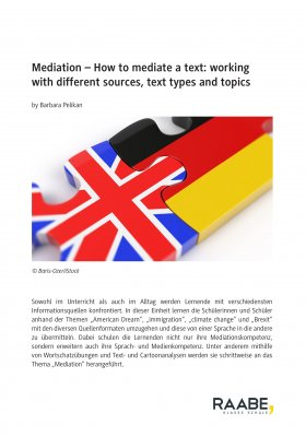 How to mediate a text: working with different sources, text types and topics