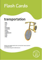 Bildkarten: Transportation