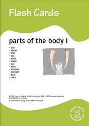 Bildkarten: Parts of the body - Teil 1