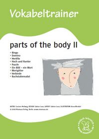 Vokabeltrainer: Parts of the body - Teil 1