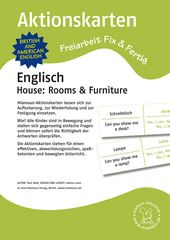 Aktionskarten: House - Rooms und Furniture
