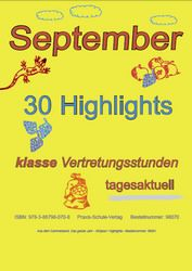 Der September - 30 Highlights