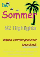 Der Sommer - 92 Highlights
