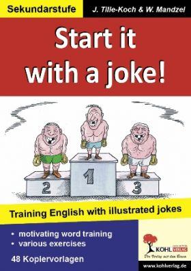 Start it with a joke! Training English with illustrated jokes