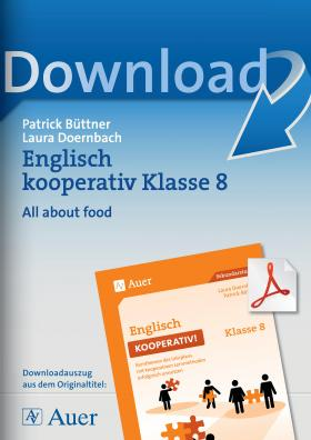 All about food - Englisch kooperativ Klasse 8