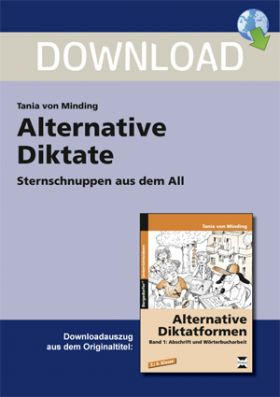 Alternative Diktate 1 - Sternschnuppen aus dem All