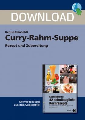 Curry-Rahm-Suppe