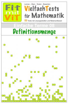 Einfache Terme: Definitionsmenge - Vielfachtests