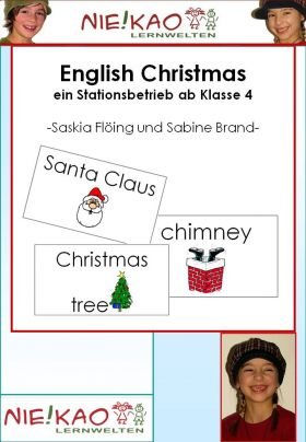 English Christmas - ein Stationsbetrieb ab Klasse 4