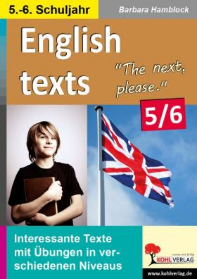 English texts - The next, please (5./6. Klasse)