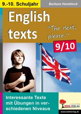 English texts - The next, please (9./10. Klasse)