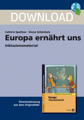 Europa ernährt uns Inklusionsmaterial