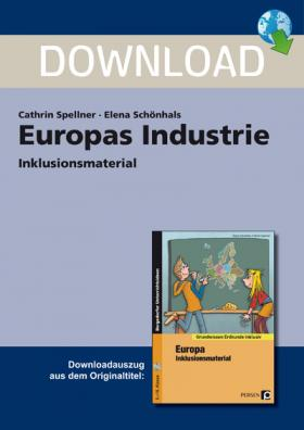 Europas Industrie Inklusionsmaterial