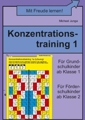 Konzentrationstraining 1