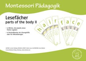 Lesefächer: parts of the body II