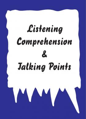 Listening comprehension & Talking points