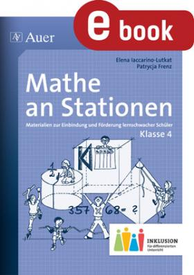 Mathe an Stationen inklusiv - Klasse 4