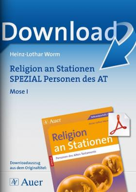 Mose I - Religion an Stationen