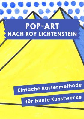 Pop-Art nach Roy Lichtenstein