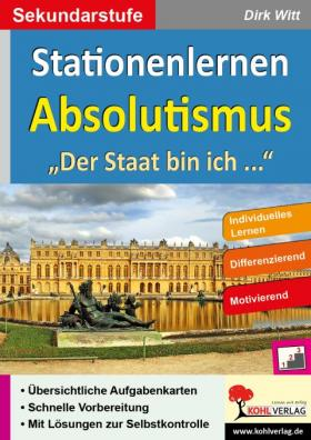 Stationenlernen Absolutismus