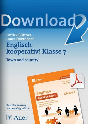 Town and country - Englisch kooperativ Klasse 7