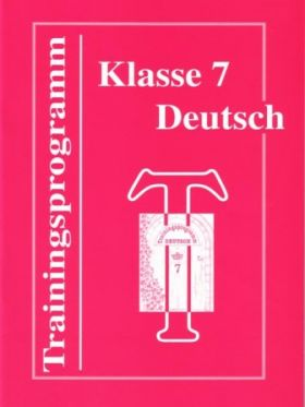 Trainingsprogramm Deutsch 7