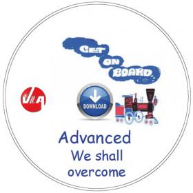 We shall overcome - Songs for advanced students