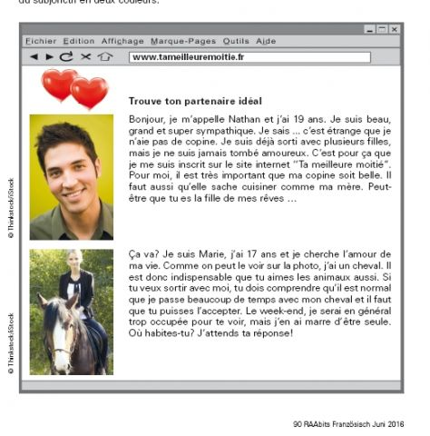 E-mail-adresse für online-dating