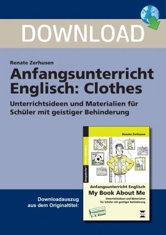 anfangsunterricht englisch clothes unterrichtsmaterial zum download. Black Bedroom Furniture Sets. Home Design Ideas