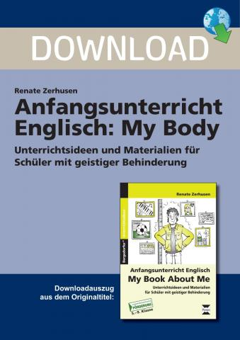 anfangsunterricht englisch my body unterrichtsmaterial zum download. Black Bedroom Furniture Sets. Home Design Ideas