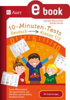 10-Minuten-Tests Deutsch 1./2. Klasse