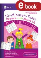 10-Minuten-Tests Deutsch 3./4. Klasse
