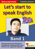 Let's start to speak English - Band 1