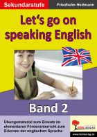 Let's go on speaking English