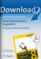 The gerund and the to-infinitive - Auer Führerscheine Englisch Klasse 8