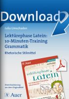Rhetorische Stilmittel - 10-Minuten-Grammatik-Training