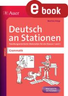 Grammatik Kl. 1/2 - Deutsch an Stationen