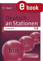 Grammatik Kl. 7/8 - Deutsch an Stationen
