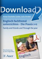Family and friends und Through the year - Englisch fachfremd unterrichten Klasse 1/2