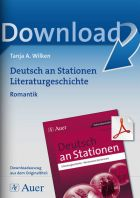 Romantik - Deutsch an Stationen Literaturgeschichte Klasse