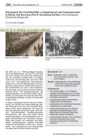 Entrenched: WWI as Experienced and Commemorated in Britain and Germany